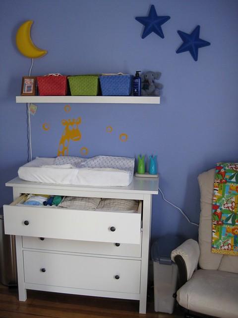 dresser changing table ikea dresser hemnes and shelf la flickr. Black Bedroom Furniture Sets. Home Design Ideas