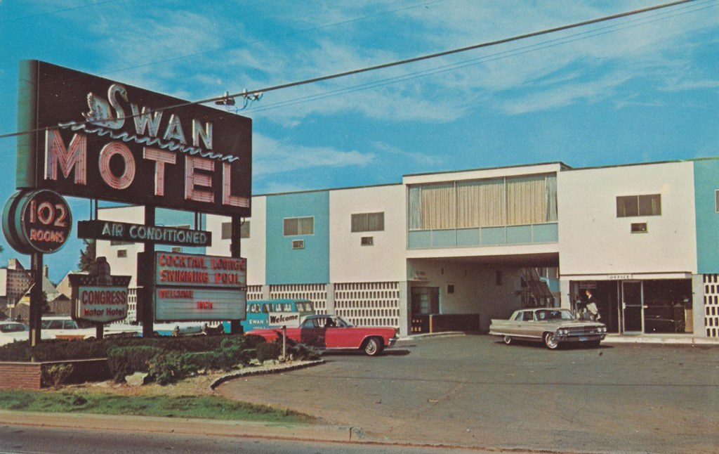 Swan motel linden new jersey u s route 1 linden for Smith motor company nj
