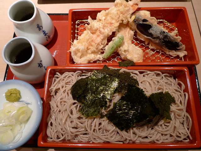 ざる蕎麦 Zaru Soba Noodles | 永坂更科 布屋太兵衛 横浜ランドマーク店 |