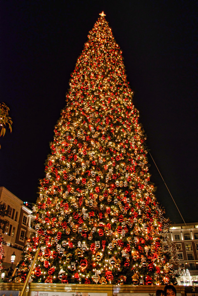 Americana Christmas Tree Glendale California 100 Foot