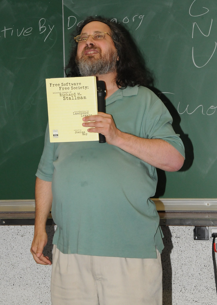 richard stallman essays Richard stallman giving a speech on free software and your freedom at the biennale du design of saint-étienne selected essays stallman, richard m (2010).