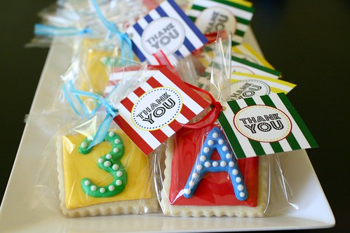 party - favor cookies | by annieseats