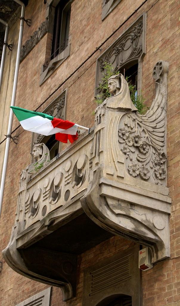 Torino via pietro piffetti jugendstilhaus casa masino vo for Casa moderna a torino