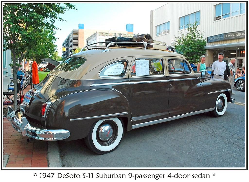 Suburban Chrysler Ann Arbor >> 1947 DeSoto Suburban 9-Passenger 4-Door Sedan   The ...
