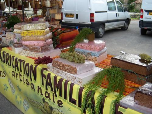 Nougat at Dieulefit Market