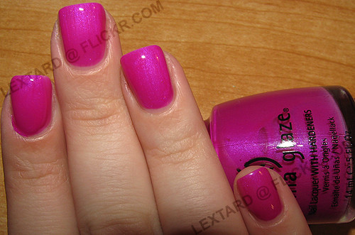 China Glaze Purple Panic Coats Top Coat Alexa