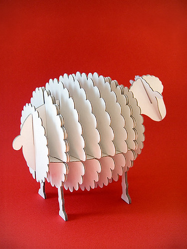 cardboard sheep template cardboard sheep par dscn2845 flickr photo