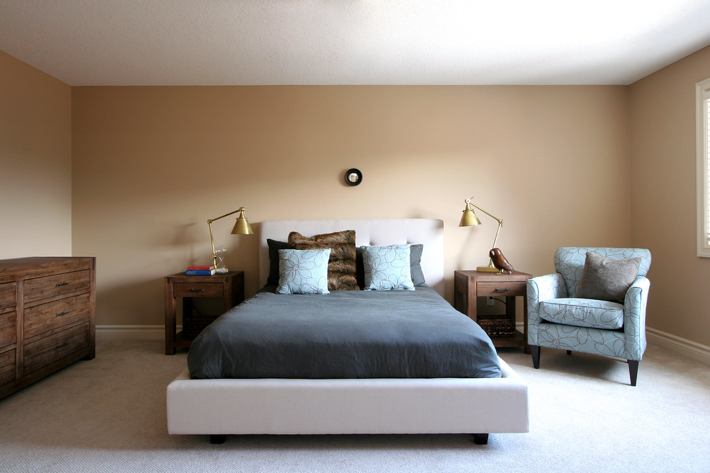 Completed bedroom design for young couple the 10 cent for Beautiful bedrooms for couples