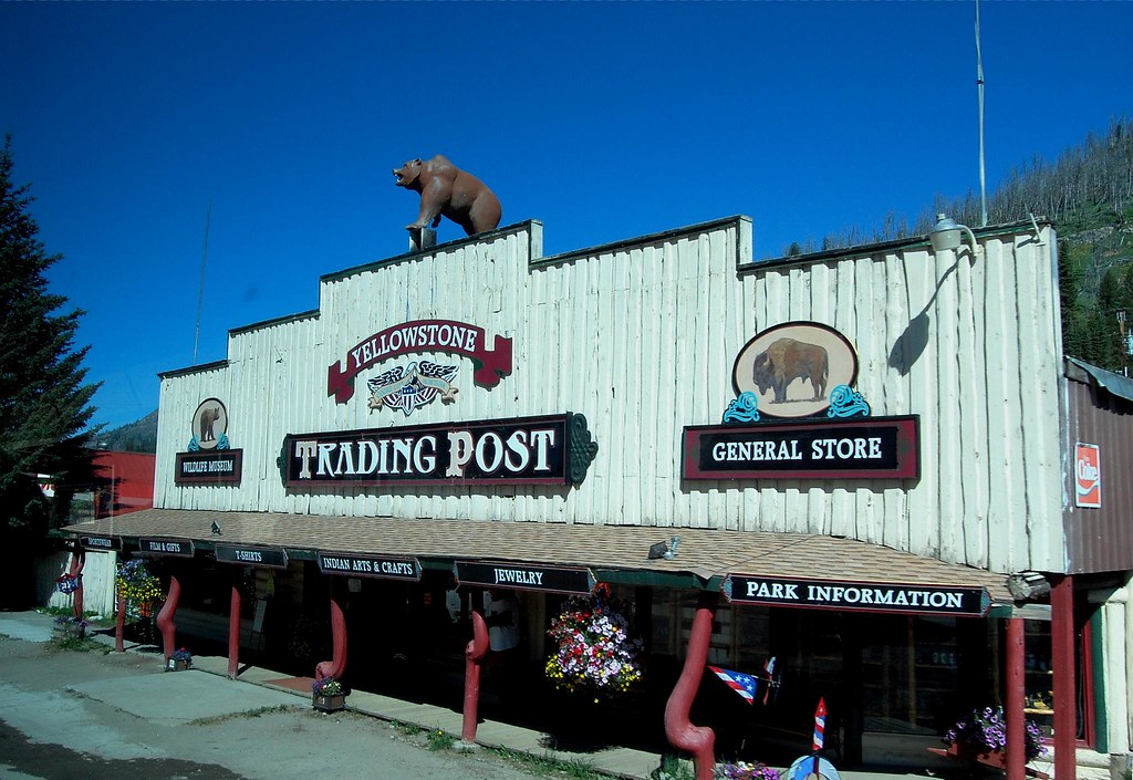 Yellowstone Trading Post Cooke City Montana MT Flickr