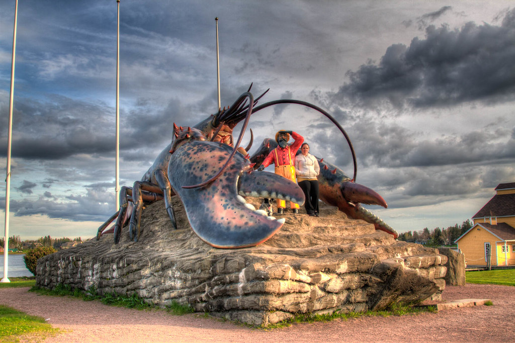 World's Largest Lobster | Well, we are back in Nova Scotia ...