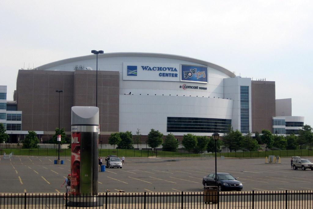 Philadelphia Wachovia Center The Wachovia Center