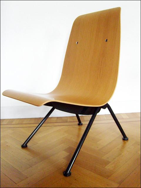 Chaise Antony Jean Prouv Atelier 1948