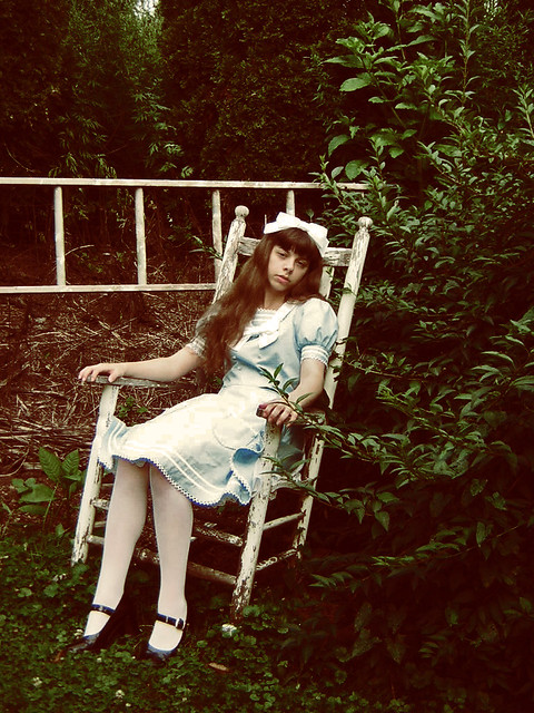 ... Doll In The Garden   By Miss History Images