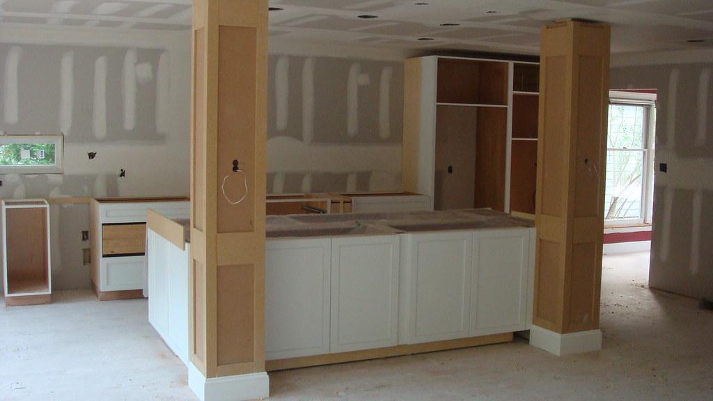 Kitchen Island Columns kitchen island & columns | aaronhoughton | flickr