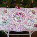 Beautiful Rose Mosaic Tile Table