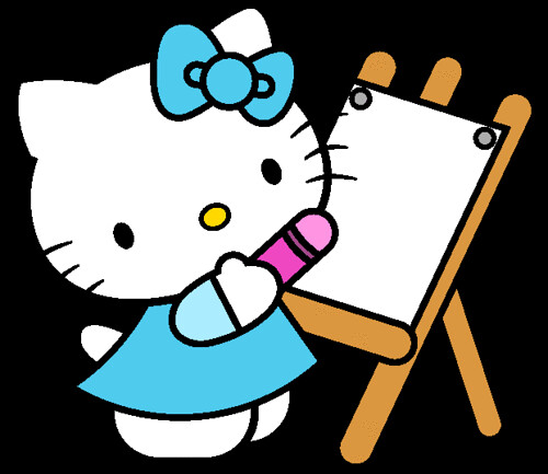 Hello Kitty Paintings Hello Kitty Painting ii | by