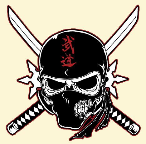 Ninja Warrior Tattoo Designs