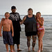 1 of 4 Tattooed Family from Bakersfield visiting Morro Strand State Beach