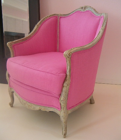 Reworked Antique French Pink Chair This Is A Great
