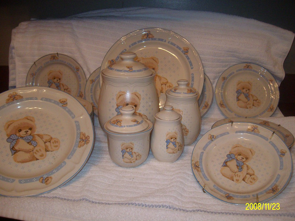 & Rare Tienshan Teddybear Dinnerware Set | This set is no longu2026 | Flickr