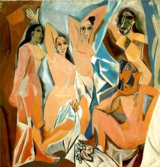 Picasso, Pablo (1881-1973) - 1907 Les Demoiselles d' Avignon (Museum of Modern Art, New York City) | by RasMarley