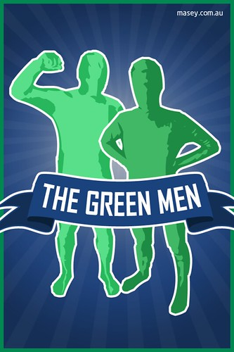 Vancouver Canucks Green Men iPhone 4 Wallpaper | by Rob Masefield (masey.co)