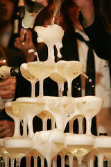 champagne tower | by Kenichi Nobusue