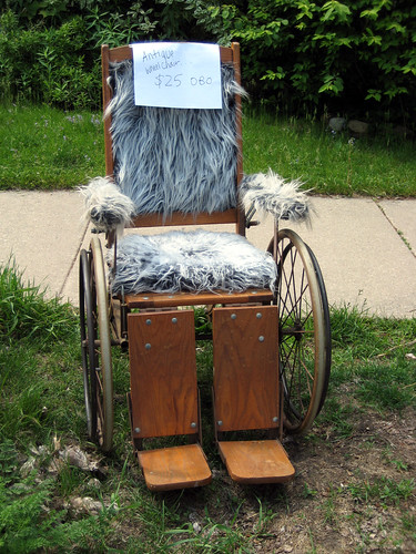 Holy hairy wheelchair! | by Angela Richardson - Artist