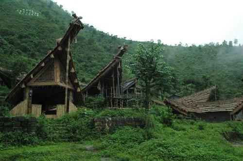 Naga Heritage Village, Kisama | The panoramic view of Naga ...
