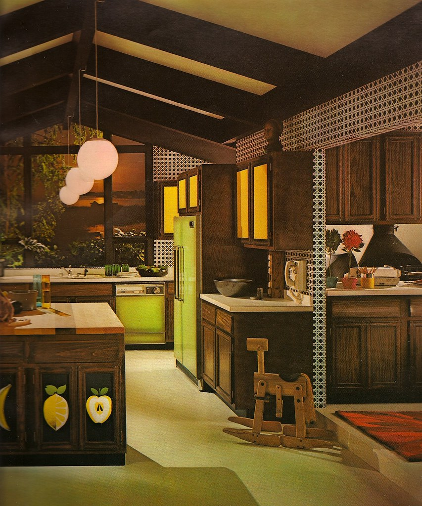 1970s Architectural Digest Kitchen | Katie Kitsch | Flickr