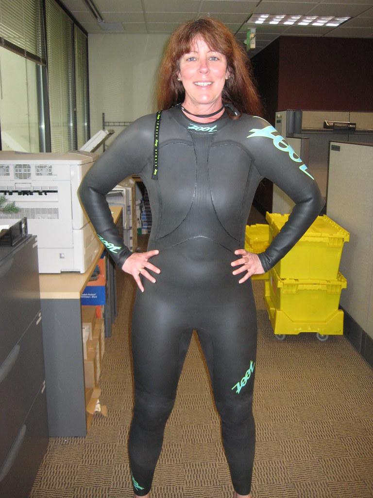 Wetsuit For My First Triathlon  My New Triathlon Wetsuit -1076