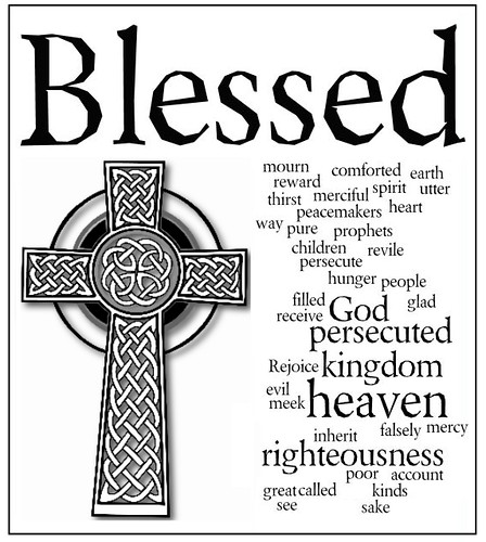 beatitudes bulletin cover | by Will Humes