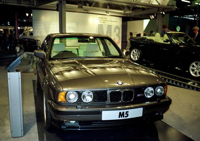 BMW M BMW M At British International Motor Show Flickr - 1990 bmw m5