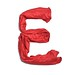Red Silk Alphabet E