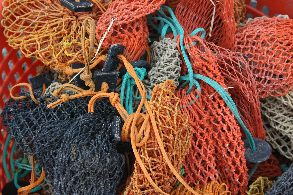 Lobster Trap Bait Bags | June 2008. Stonington, Maine. These… | Flickr