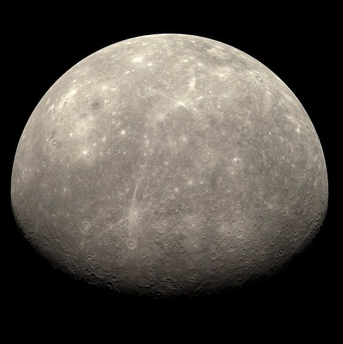 MESSENGER flyby of Mercury | A short animated gif showing ...