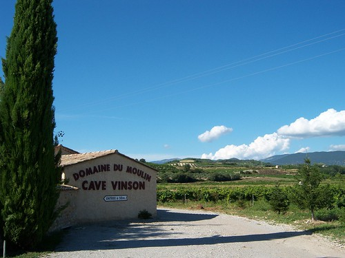 Domaine du Moulin in Vinsobres
