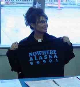 Sarah Palin Promotes Bridge To Nowhere With T-Shirt | by baratunde