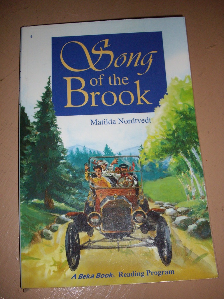 song of the brook book report