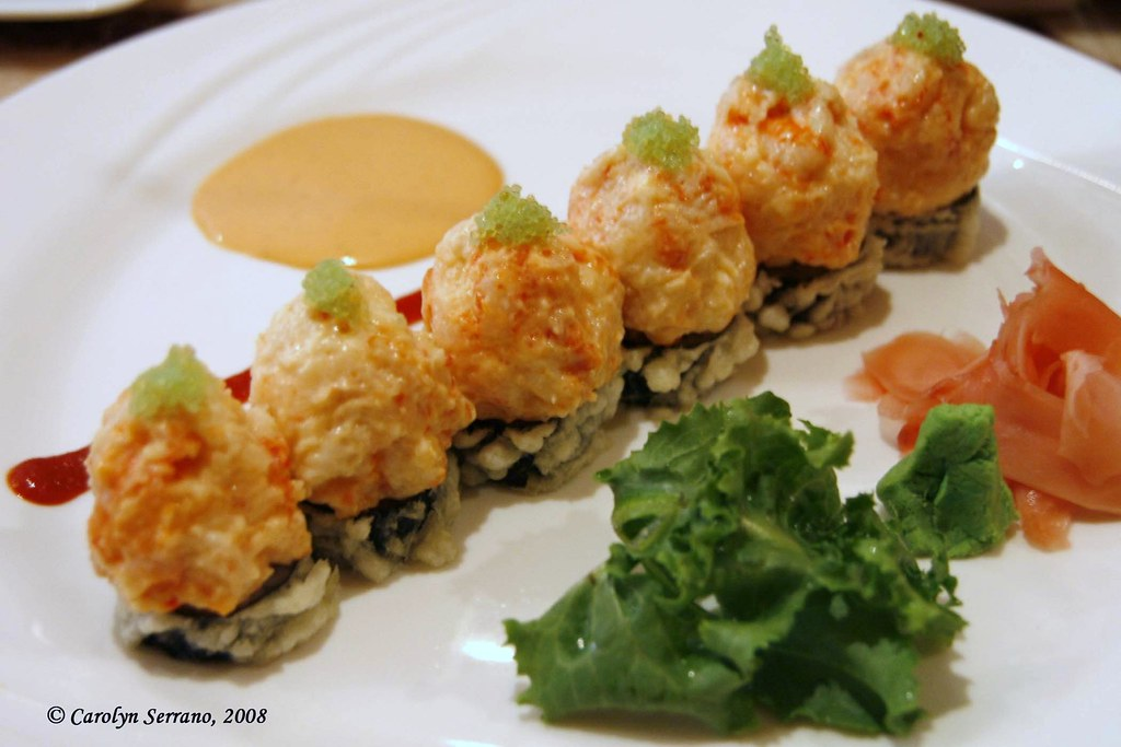 Hane Sushi - Crispy Spicy Lobster Roll | Now this roll was ...