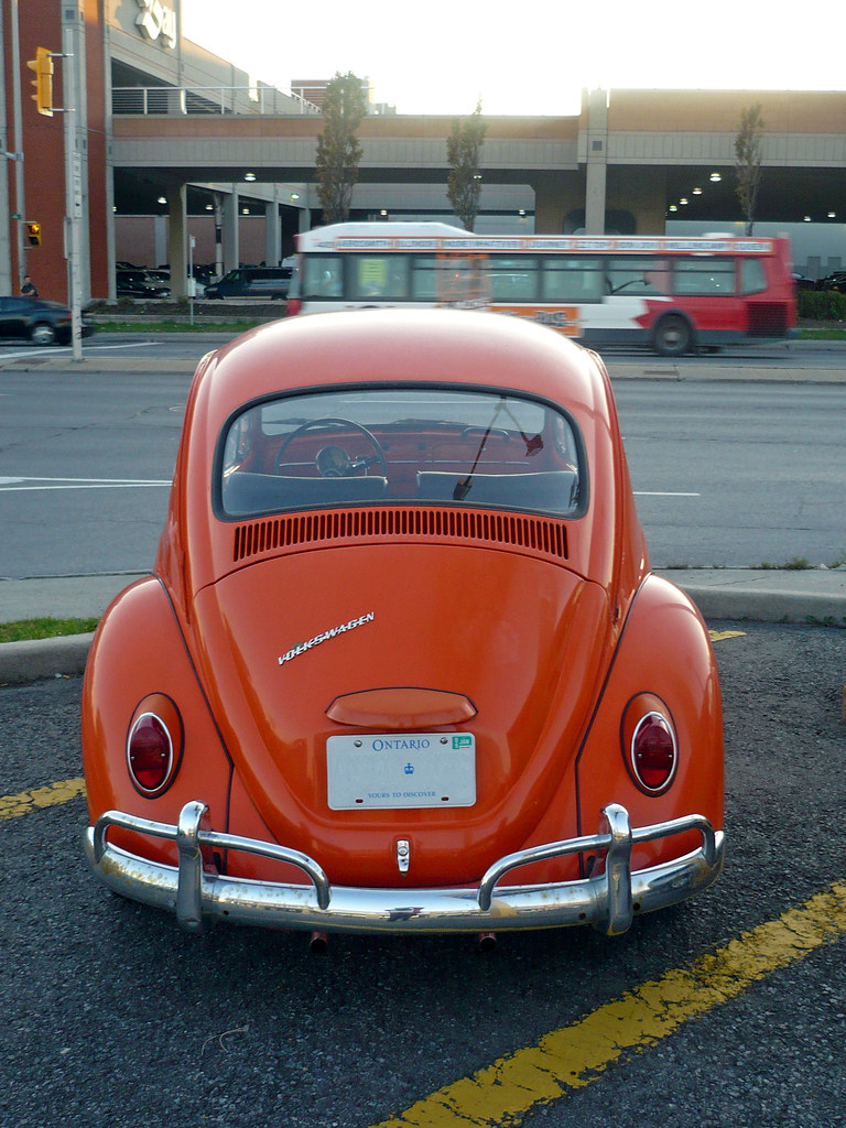The rear of the Kiddie Kobbler classic Volkswagen Beetle. | Flickr