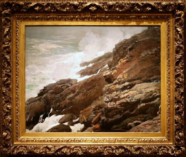 High Cliff, Coast of Maine | High Cliff, Coast of Maine ...
