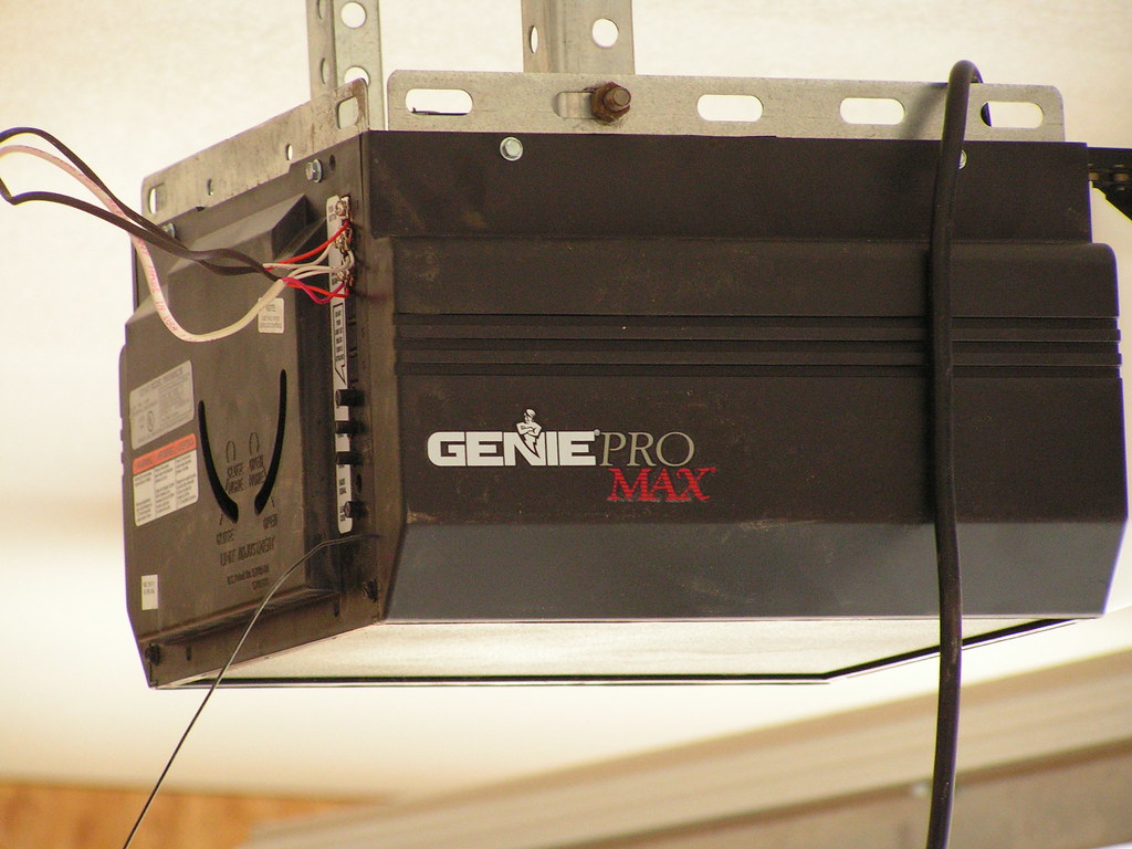 Garage Door Opener The Garage Door Opener Is A Genie Pro