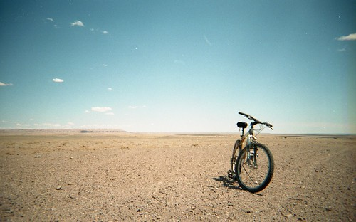 img175 Painted Desert and my mountain bike | by ww_whist