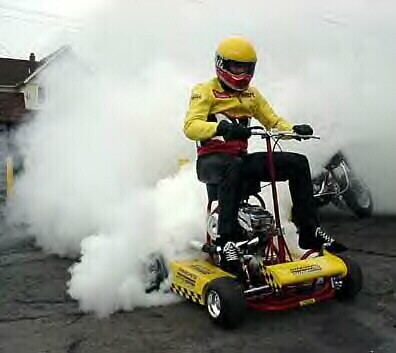 Research Image Gas Powered Bar Stool Burnout Steven