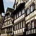 Quaint timbered houses