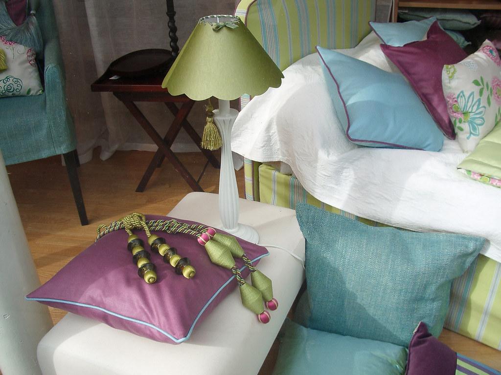 Harmonie des couleurs toiles de mayenne bridgettt flickr - Toile de mayenne rideaux ...