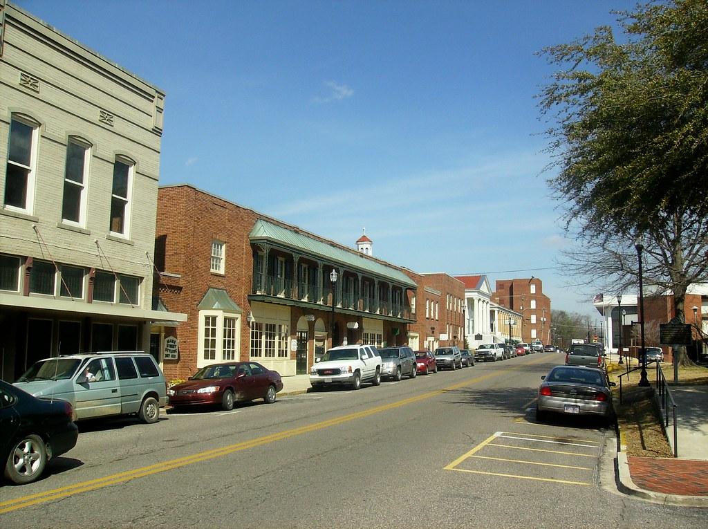Beautiful Downtown Jasper Alabama Jasper Is The County