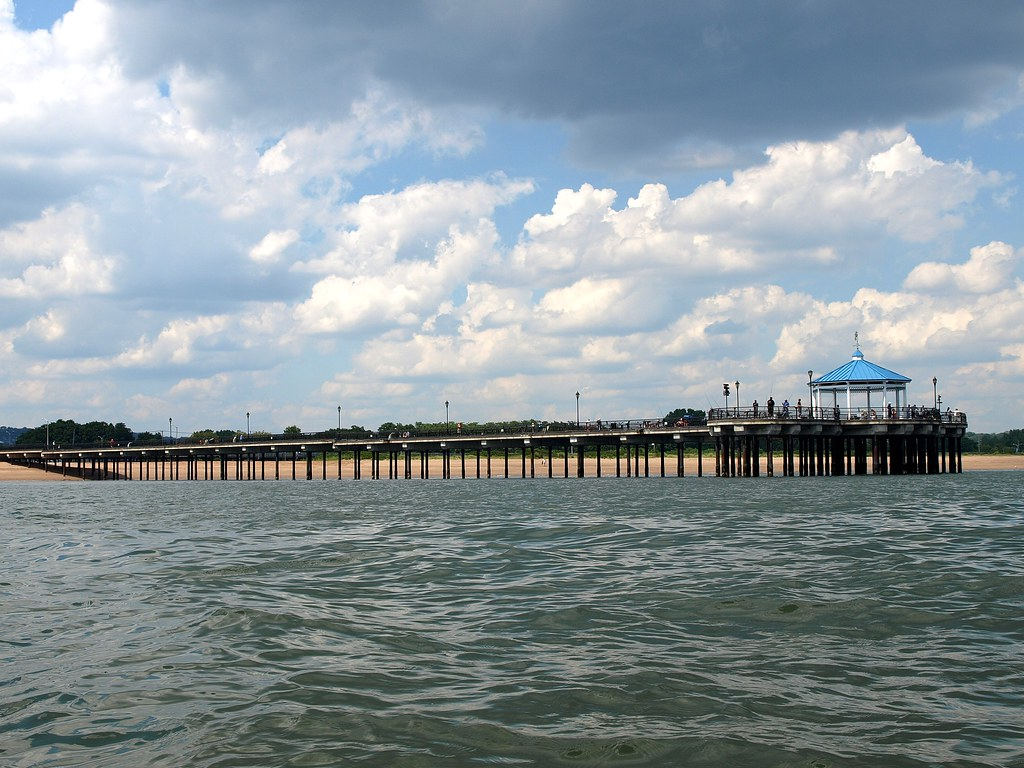 Midland beach fishing pier staten island new york city for Staten island fishing
