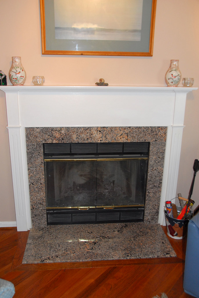 Granite Fireplace Hearth And Surround Jonathan Bein Flickr